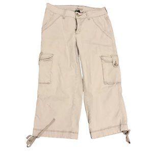 Jag Jeans Stretch Cargo Khaki Capris